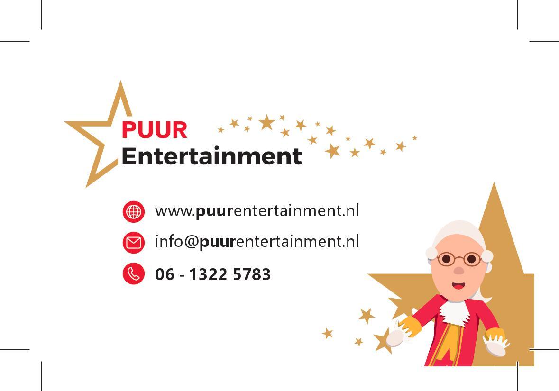 Kijkt u ook even op onze nieuwe website: www.puurentertainment.nl