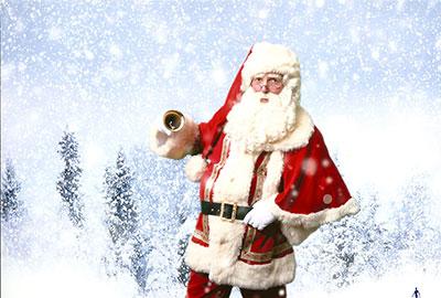 Kerstman - december entertainment.nl