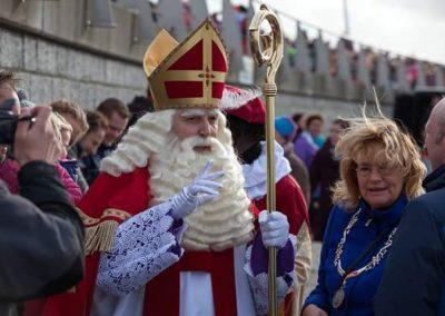 Sinterklaas in Batavia haven te Lelystad - december-entertainment.nl