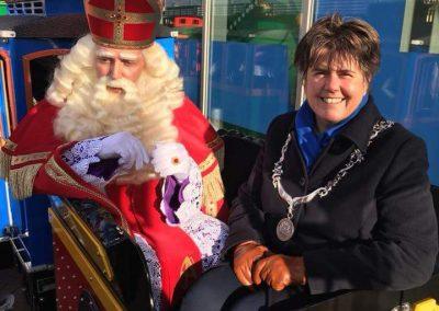 Sinterklaas in Lelystad met Burgermeester - december-entertainment.nl