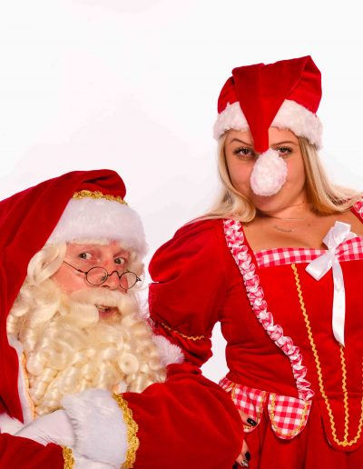 Professionele Kerstman van December-entertainment.nl